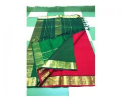 Sindhu Collections --- Pure Kanchi silk cotton sarees