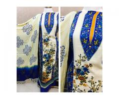 Classy Charm --- Pashmina suits with Stole