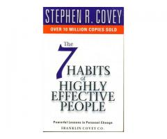 Book Mark ---- 7 HABITS OF HIGHLY EFFECTIVE PEOPLE by Stephen R Covey