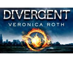 Book Mark ---- DIVERGENT by Veronica Roth