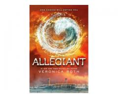 Book Mark --- ALLEGIANT by Veronica Roth