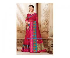 Cotton saree for all occasions -- Classy charm