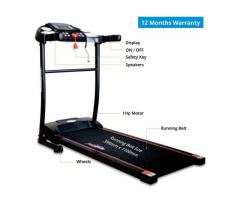 Buy Healthgenie Motorized Treadmill 3911M with Massager Online In India