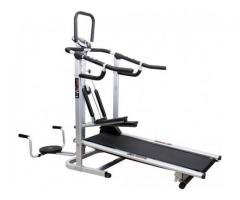Compare & buy Lifeline 4 in 1 Deluxe Manual Treadmill Online at Healthgenie