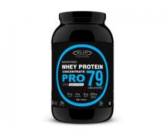 Buy Sinew Nutrition Raw Whey Protein 79% PRO 1kg Online In India