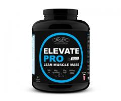 Sinew Lean Muscle Mass Pro Strawberry (3kg) Online at Healthgenie