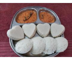 Rachel recipe's -----  Idli and Chutney