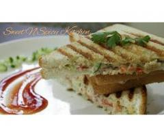 Sweet'N'Spicy Kitchen ---- Mayo Grilled Sandwich