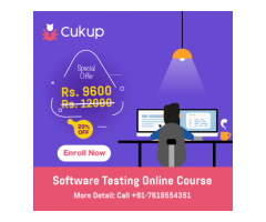 Software Testing Course - 100% Online - Easy & Effective - Only @ cukup.in