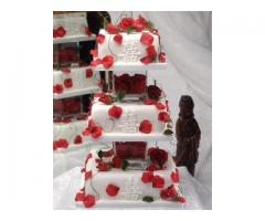 THE MEDAL CAKE ---- Wedding & Anniversary Cakes
