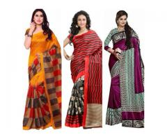 Namrita's collection --- Bhagalpuri sarees
