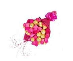 Exciting offer on valentine chocolate bouquet