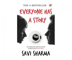 Book Mark ---- EVERYONE HAS A STORY by Savi Sharma