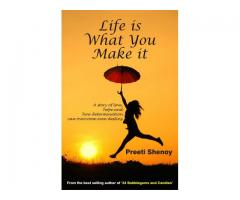 Book Mark --- LIFE IS WHAT YOU MAKE IT by Preeti Shenoy