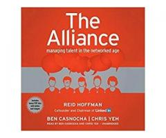 Book Mark ---- THE ALLIANCE by Reid Hoffman