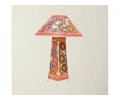 Vidushi Handicrafts ---- Lampshade with stand