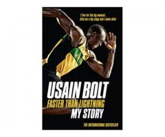 Book Mark --- FASTER THAN LIGHTNING by Usain Bolt