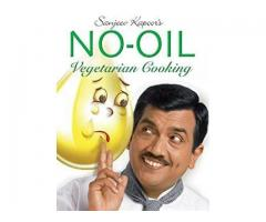 Book Mark --- SANJEEV KAPOOR : NO OIL VEGETARIAN COOKING