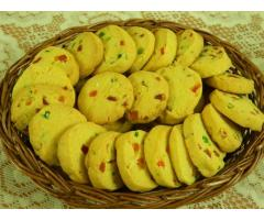 Food Connection ---- Tutti Fruity Karachi Biscuits | Fruit Biscuits | Butter Cookies
