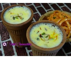 Food Connection ---- Kesariya Malai Doodh | Masala Milk | Saffron flavored Milk | Kadai doodh