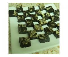 Food Connection --   Marble Chocolate Fudge