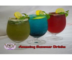 Food Connection -- Homemade Summer Drinks | Summer Coolers | Innovative Recipes Welcome Drink