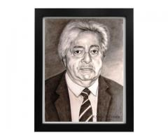 Live Sketch portrait artist in delhi