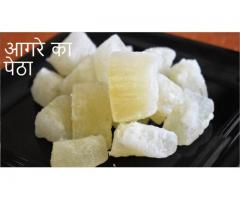 Food Connection --  आगरे का पेठा | Agre Ka Petha Recipe | Melon Candy | Easy And Perfect Petha recip