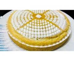 Meenu's Cookbook --- Eggless Vanilla Cake