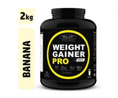 Buy Sinew Weight Gainer Pro Banana (2kg)