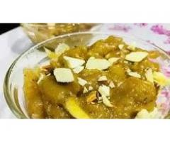 Meenu's Cookbook --- Atte ka Halwa recipe ! Wheat flour pudding