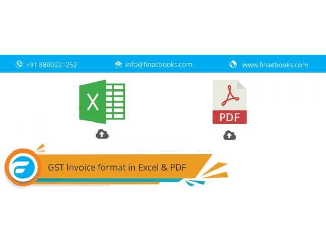 Download Excel And Pdf Format Of Tax Invoice In Gst Delhi