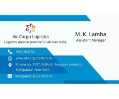 Packers and Movers in Delhi | Air Cargo Packers & Logistics