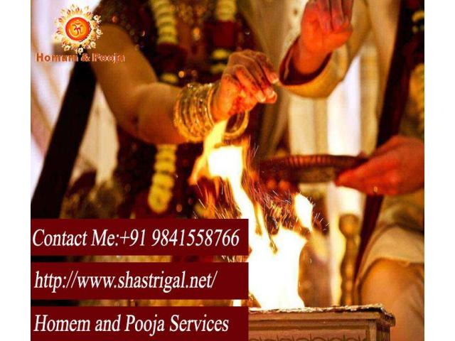 Book Best Homam & Pooja Services in Chennai | Pandits & Purohits | Shastrigal