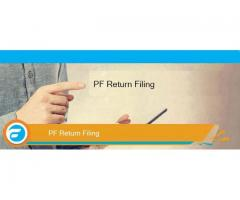 What is the due date of PF return?