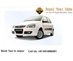 Taxi Services in Jaipur offering from reputed company - Royal taxi cabs