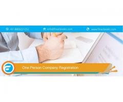 Know Fees of One Person Company Registration