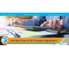 How much fees of OPC Company Registration? Know more
