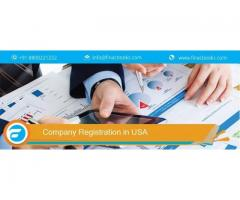 Get Instant Company Registration in USA by FinacBooks