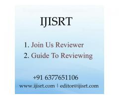 IJISRT is the famous site for Peer-reviewed academic journal